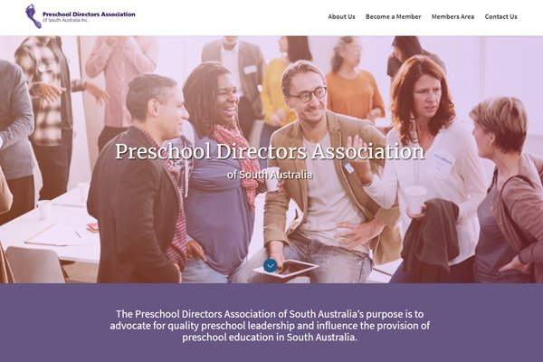 Case study: the new Preschool Directors Association (PDA) website