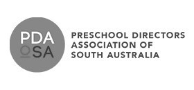 Preschool Directors Association of South Australia (PDA) logo