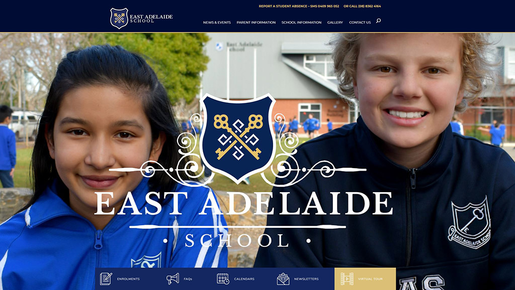 East Adelaide School Website