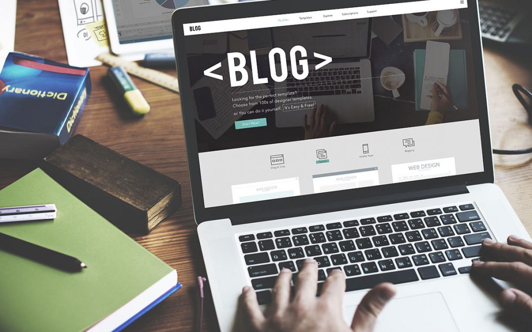 How to edit a blog post on your school website